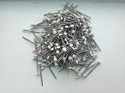 220no 40mm Long A4 Stainless Steel White Headed Fascia Pins Nails