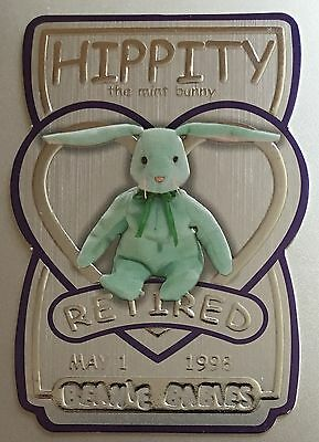 Hippity the Bunny TY Beanie Trading Card Series 3 4694/5000 Silver