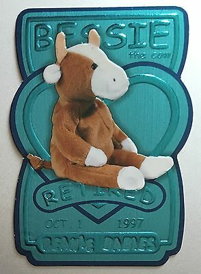 Bessie the Cow TY Beanie Trading Card Series 3 14810/17280 Teal