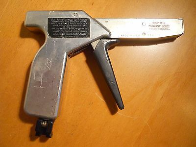 Panduit Cable Tie Tool Mod.GS-2B, In Great Working Condition.