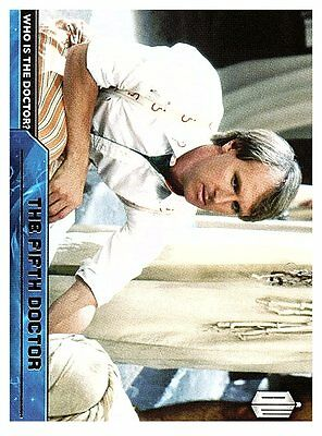 2015 Doctor Who Is The Doctor  #d5  The Fifth Doctor  50 Cent Ship