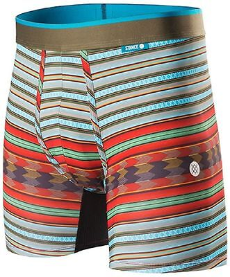 NEW! AUTHENTIC! Stance KIVA Men's FITTED BOXER BRIEF Underwear Size L