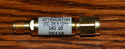 HP Agilent 8493C-040 Attenuator DC-26.5Ghz, 3.5mm, 40db GOOD