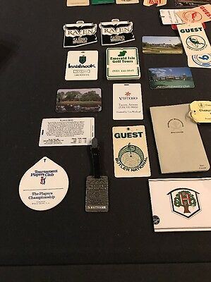 Nine(9) Bag Tags - Raven, Innisbrook, TPC Sawgrass, North Shore and much More!!