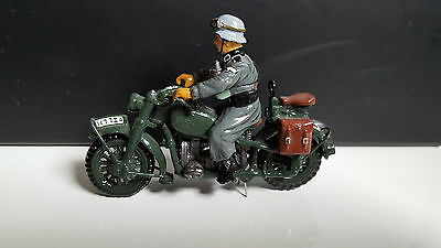 King And Country Ws03 Early Ww2 German Motor Bike