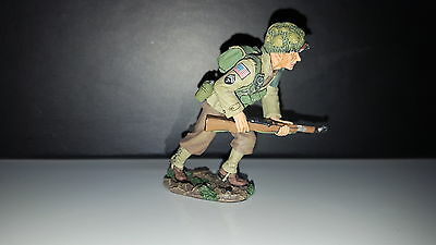 King And Country Dd86 Ww2 Us Running Forward