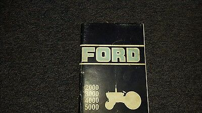 ford tractor owners handbook