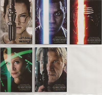 Star Wars - The Force Awakens Series 2 - Character Poster-Set von Topps 2016