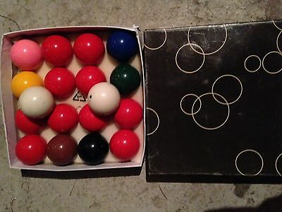 Snooker Balls Set (Suited For A 6ft Table Size)
