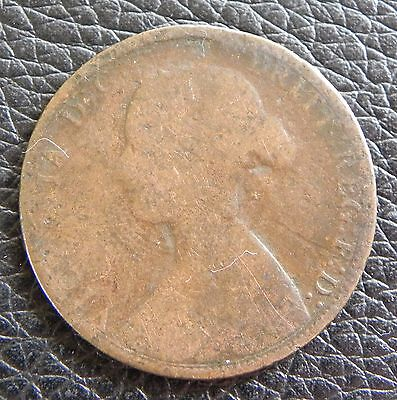 GREAT BRITAIN - 1/2 penny - 1862 - KM# 748.2