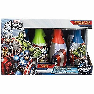 Marvel - AVENGERS ASSEMBLE - Indoor / Outdoor 6 Pin Bowling Set