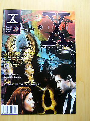 The X-Files Uk Official Magazine # 16 Sept 1996 - Published By Manga