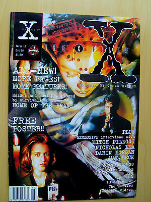 The X-Files Uk Official Magazine # 17 October 1996 - Published By Manga