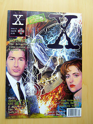 The X-Files Uk Official Magazine # 14 July 1996 - Published By Manga