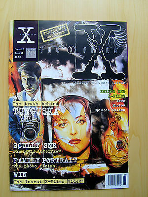The X-Files Uk Official Magazine # 23 June 1997 - Published By Titan