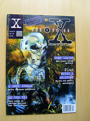 The X-Files Uk Official Magazine # 27 October 1997 - Published By Titan
