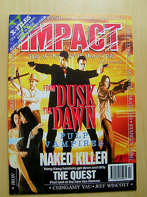 Impact The Action Moviemagazine July 1996 - Free 16 Page X-Files Supplement