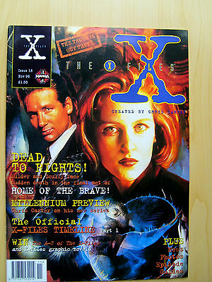 The X-Files Uk Official Magazine # 18 November 1996 - Published By Manga