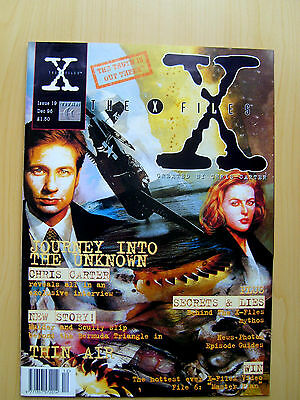 The X-Files Uk Official Magazine # 19 December 1996 - Published By Titan