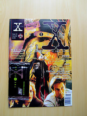 The X-Files Uk Official Magazine # 13 June 1996 - Published By Manga