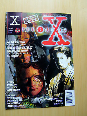 The X-Files Uk Official Magazine # 3 August 1995 - Manga
