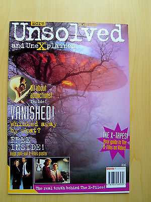 More Unsolved And Unexplained Magazine - The X-Files (Free Pull-Out Posters)