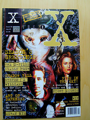 The X-Files Uk Official Magazine # 20 January 1997 - Published By Titan