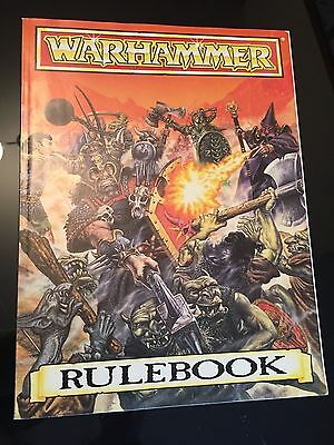 Warhammer Fantasy Battle 3rd Edition Rulebook 1987 Softcover