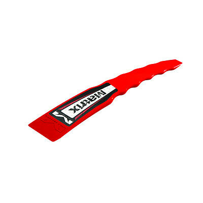 Matrix Concepts M24 MX Mud Scraper - Red MX Motocross offroad Trail Enduro