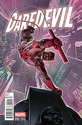 Daredevil #16 Marvel Comics 2015 NYC Alex Maleev Variant Cover Comic Book