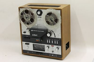 AKAI X-360D Cross-Field Reel-To-Reel Recorder Vintage Audiophile Tested Working