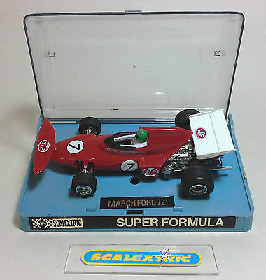 SCALEXTRIC ROVEX Vintage 1970's March Ford 721 #4 C026/C26 (EXCELLENT) BOXED