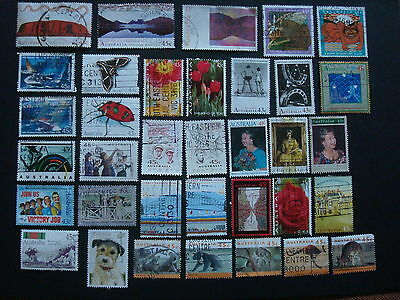 1990-1994 - 35 x Used Australian Sheet Stamps  - #11