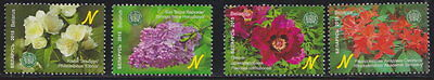 Belarus Central Botanical Garden of the National Academy of Sciences 4v MNH 2015