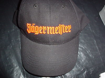 JAGERMEISTER Jager Liquor Booze Bottle Logo New Baseball Hat Cap