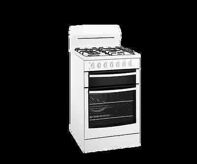Westinghouse 54cm White Fan-Forced Gas Stove with Wok Burner - Model: WLG517WA
