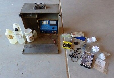 Used Marking Methods Mark 300 Etching Machine W/case & Extras - See Description