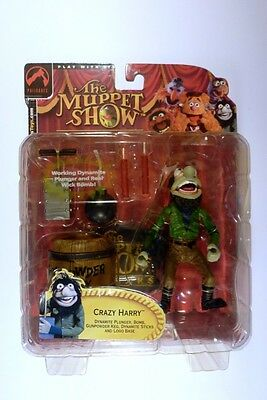 Muppets Palisades - Crazy Harry action figure - Dynamite Bomb Series 2 2002