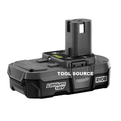 New Ryobi One+ 18V 18 Volt Compact Lithium-Ion Battery P102 (Battery Only)
