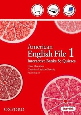 American English File 1 by Oxenden Paperback Book (English)