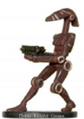 WOTC Star Wars Minis Universe Battle Droid NM