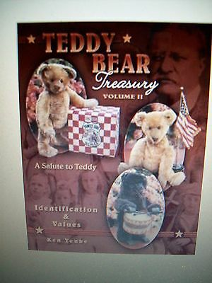 Vintage Teddy Bear Price Guide Collector Book