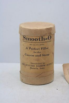Vintage Smooth-O- Perfect Filler for Canvas & Strop Cardboard Container
