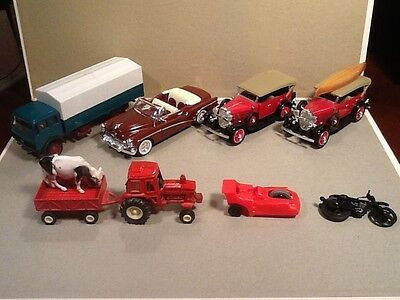 Lot of diecast cars.