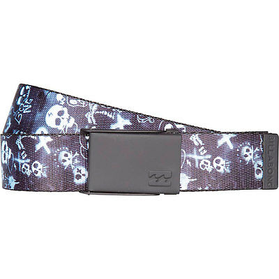 Billabong Bad Billy Belt One Size Black Cinturones