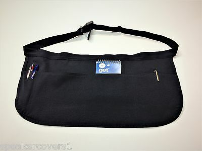 6 x Adjustable Waist Apron 4 pockets - Navy Blue