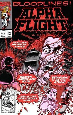 Alpha Flight (1983 1st Series) #114 VF