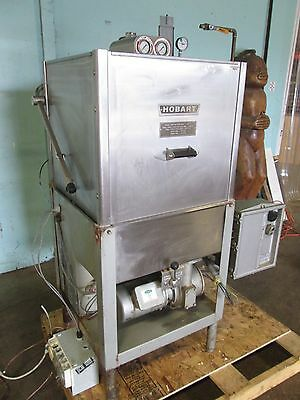 """HOBART AM11"" HEAVY DUTY COMMERCIAL DOOR TYPE DISHWASHER w/""VIKING"" INJECTOR"