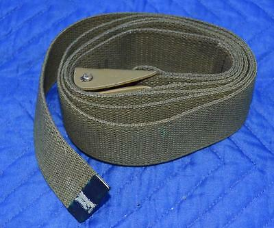 "U.S. Military Surplus - Web Straps - Steel Latch with Knurled Roller 72"" x 2"""