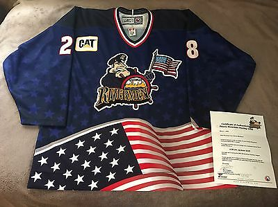 Peoria Rivermen Game Worn Used AHL Specialty Jersey St Louis Blues Authentic 56